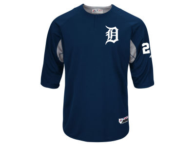 Detroit Tigers J. D. Martinez Majestic MLB Men's On-Field BP Trainer Jersey
