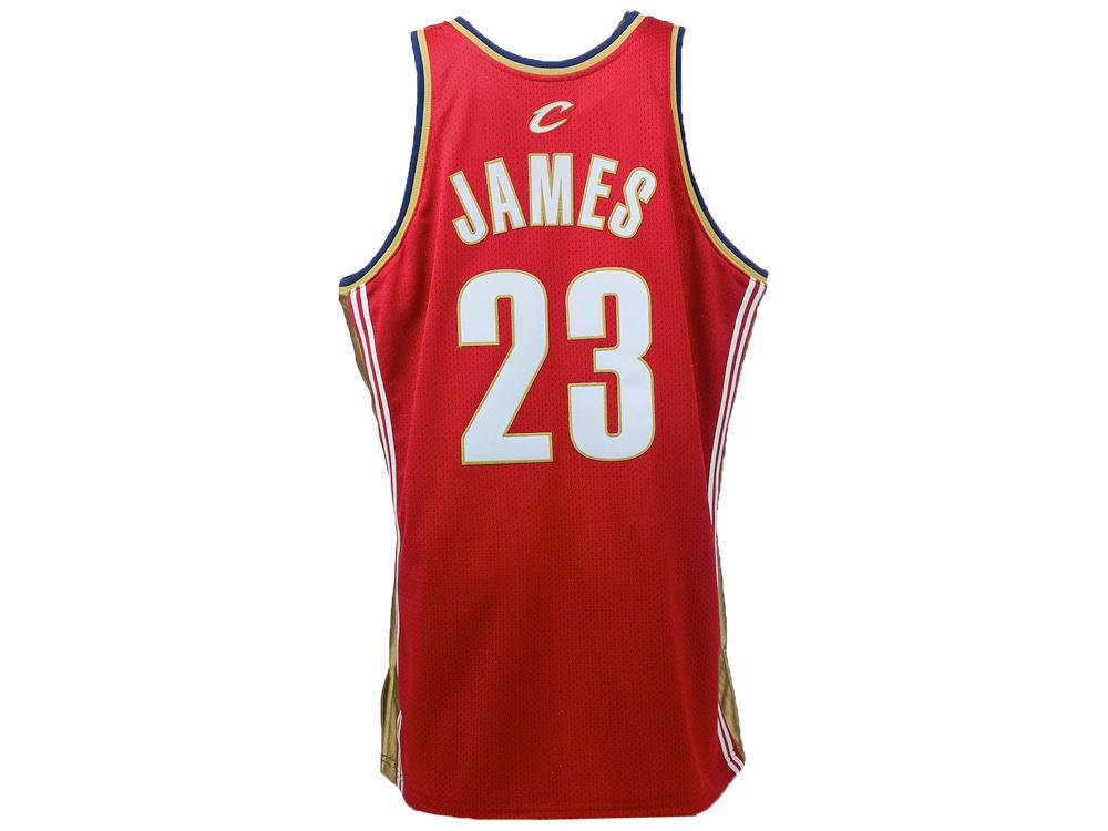 Cleveland Cavaliers LeBron James Mitchell   Ness NBA Authentic Jersey. Cleveland  Cavaliers LeBron James Mitchell ... c24b2fa7e