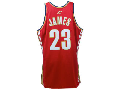 Cleveland Cavaliers LeBron James Mitchell and Ness NBA Authentic Jersey