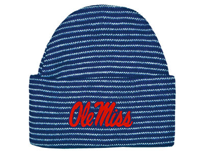 Ole Miss Rebels NCAA Newborn Stripe Knit Cap