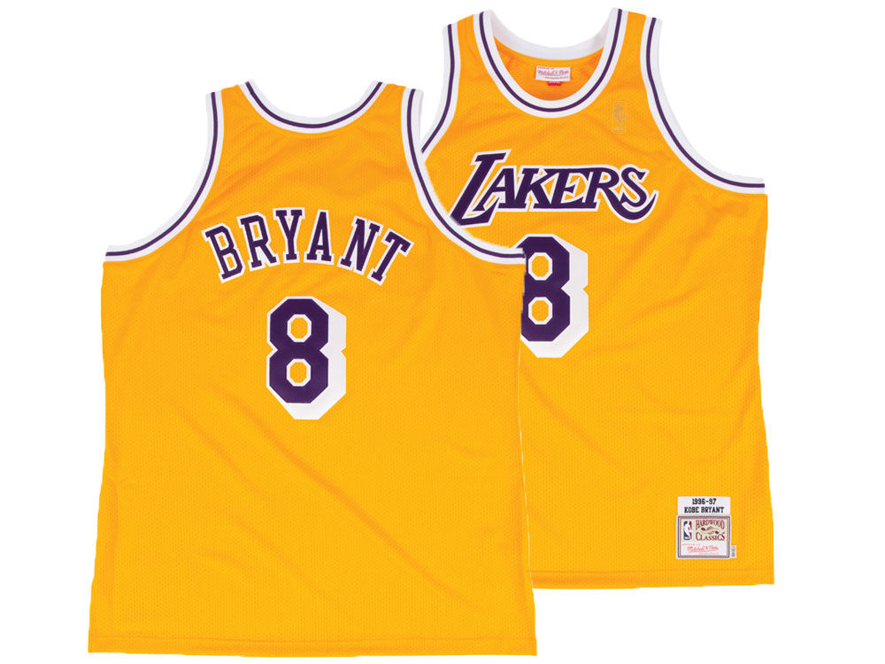 Los Angeles Lakers Kobe Bryant Mitchell   Ness NBA Authentic Jersey ... 955e7474fd7c