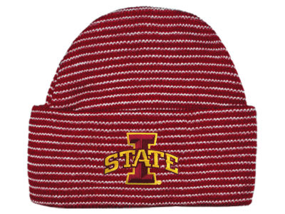 Iowa State Cyclones NCAA Newborn Stripe Knit Cap