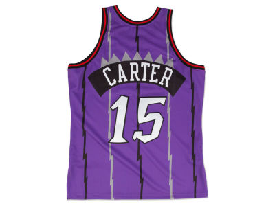 Toronto Raptors Vince Carter Mitchell and Ness NBA Authentic Jersey