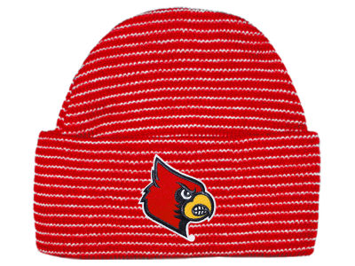 Louisville Cardinals Atlanta Hosiery NCAA Newborn Stripe Knit Cap