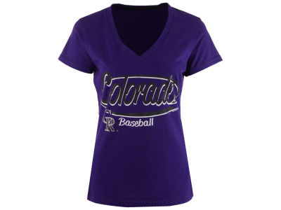 Colorado Rockies GIII MLB Women's Away Game T-Shirt