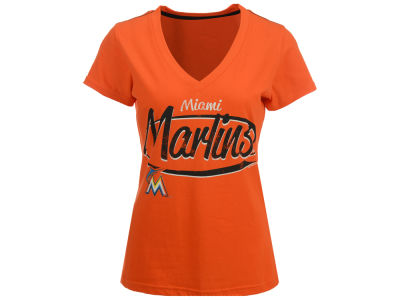 Miami Marlins G-III Sports MLB Women's Away Game T-Shirt