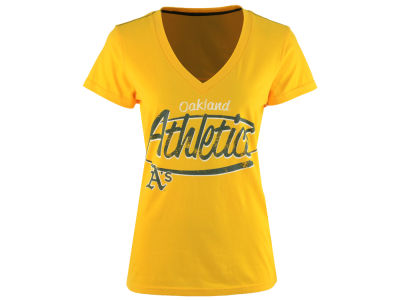 Oakland Athletics GIII MLB Women's Away Game T-Shirt