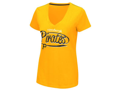 Pittsburgh Pirates GIII MLB Women's Away Game T-Shirt