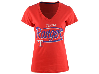 Texas Rangers GIII MLB Women's Away Game T-Shirt