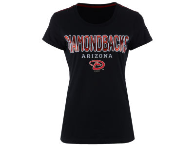 Arizona Diamondbacks G-III Sports MLB Women's Round the Bases Foil T-Shirt