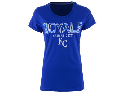 Kansas City Royals G-III Sports MLB Women's Round the Bases Foil T-Shirt