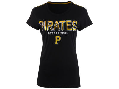 Pittsburgh Pirates G-III Sports MLB Women's Round the Bases Foil T-Shirt