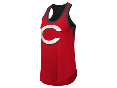 Cincinnati Reds GIII MLB Women's Power Play Tank
