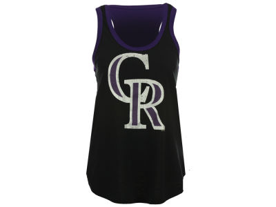 Colorado Rockies GIII MLB Women's Power Play Tank