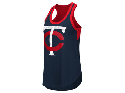 Minnesota Twins GIII MLB Women's Power Play Tank