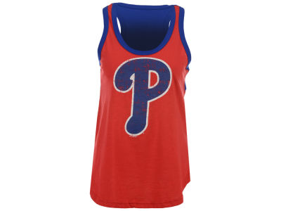 Philadelphia Phillies GIII MLB Women's Power Play Tank