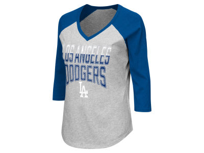 Los Angeles Dodgers GIII MLB Women's Start Up Raglan T-Shirt