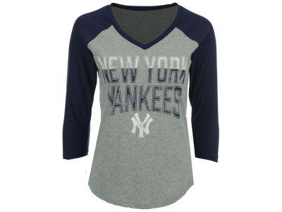 New York Yankees G-III Sports MLB Women's Start Up Raglan T-Shirt