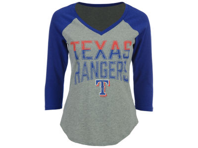 Texas Rangers G-III Sports MLB Women's Start Up Raglan T-Shirt