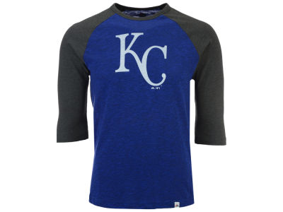 Kansas City Royals Majestic MLB Men's Grueling Raglan T-Shirt