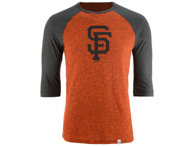 San Francisco Giants Majestic MLB Men's Grueling Raglan T-Shirt