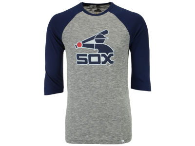 Chicago White Sox Majestic MLB Men's Coop Grueling Raglan T-shirt