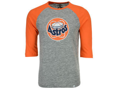 Houston Astros Majestic MLB Men's Coop Grueling Raglan T-shirt