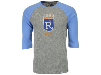 Kansas City Royals Majestic MLB Men's Coop Grueling Raglan T-shirt