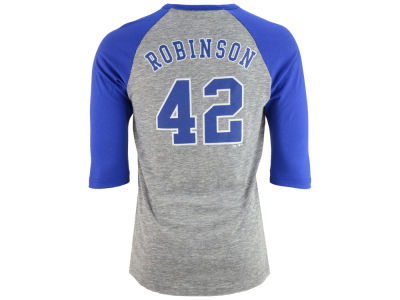 Brooklyn Dodgers Jackie Robinson Majestic MLB Men's Coop Player Entry Raglan T-Shirt