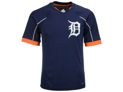 Detroit Tigers Majestic MLB Men's Emergence Top