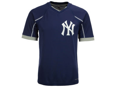 New York Yankees Majestic MLB Men's Emergence Top
