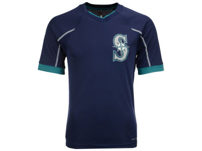Seattle Mariners Majestic MLB Men's Emergence Top