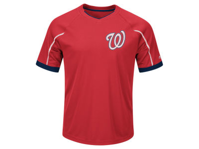 Washington Nationals Majestic MLB Men's Emergence Top