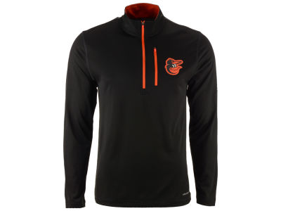 Baltimore Orioles Majestic MLB Men's Six-Four-Three 1/2 Zip Pullover