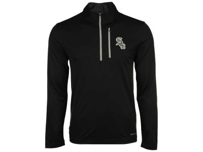 Chicago White Sox Majestic MLB Men's Six-Four-Three 1/2 Zip Pullover