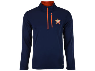 Houston Astros Majestic MLB Men's Six-Four-Three 1/2 Zip Pullover