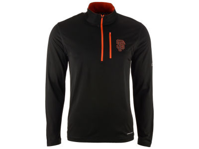 San Francisco Giants Majestic MLB Men's Six-Four-Three 1/2 Zip Pullover