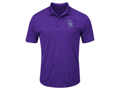 Colorado Rockies Majestic MLB Men's First Hit Polo