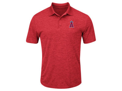 Los Angeles Angels Majestic MLB Men's First Hit Polo