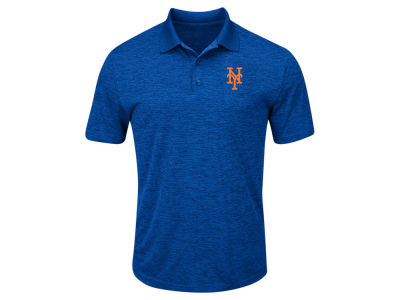 New York Mets Majestic MLB Men's First Hit Polo