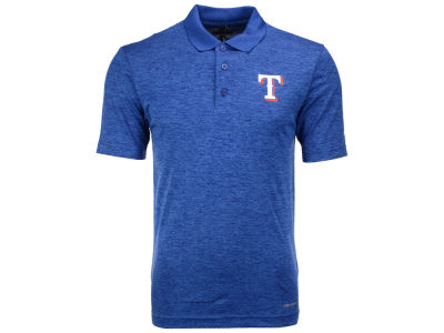 Texas Rangers Majestic MLB Men's First Hit Polo
