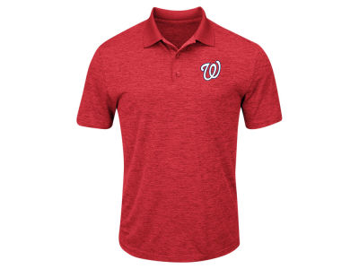 Washington Nationals Majestic MLB Men's First Hit Polo