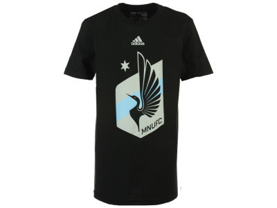 Minnesota United FC adidas MLS Youth Primary Logo T-Shirt