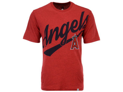 Los Angeles Angels Majestic MLB Men's Super Script T-Shirt