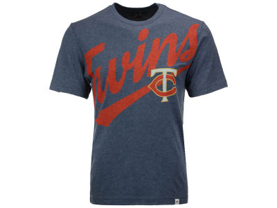 Minnesota Twins Majestic MLB Men's Super Script T-Shirt