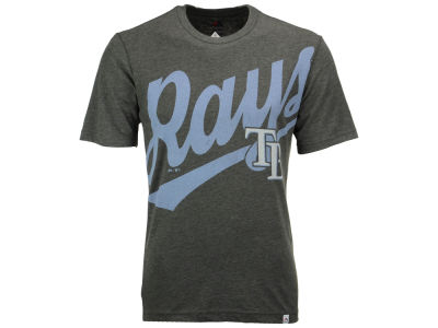 Tampa Bay Rays Majestic MLB Men's Super Script T-Shirt
