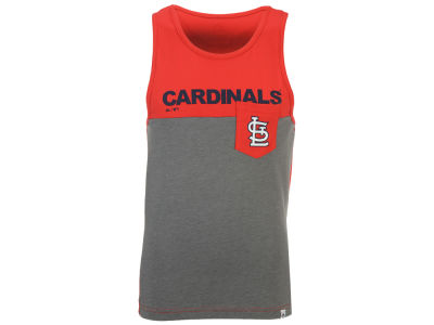 St. Louis Cardinals Majestic MLB Men's Pocket Tank
