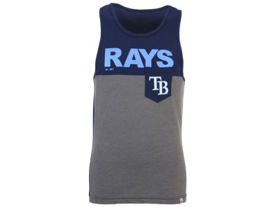 Tampa Bay Rays Majestic MLB Men's Pocket Tank
