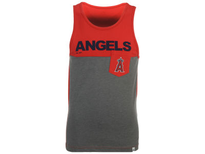 Los Angeles Angels Majestic MLB Men's Pocket Tank