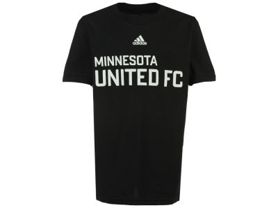 Minnesota United FC adidas MLS Youth Wordmark Logo T-Shirt
